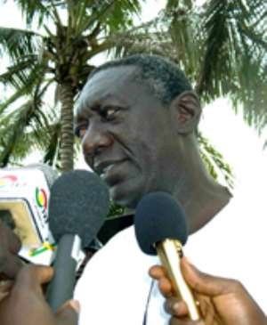 Kufuor's comments: Rojo fights back
